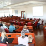 Zagreb, 11.04.2016 - Važnost prevencije osteoporoze za žensko zdravlje, predavanje u Poliklinici Sunce. Predavaè: Božica Blažon